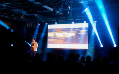 Dexter's Pitch beim Demo Day – Smart Energy Accelerator von Rockstart